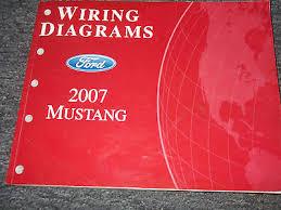 ford mustang service shop repair manual wiring diagrams set 2007 ford mustang electrical wiring diagram service shop repair manual ewd