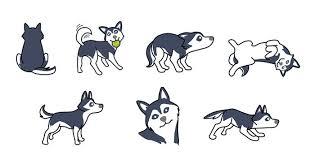 Wolf Body Language Chart Understanding Husky Body Language Snowdog Guru