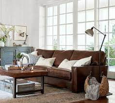 walls suits best with brown sofa