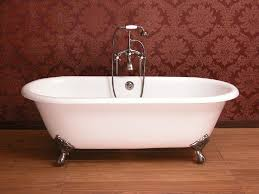 classic cast iron clawfoot double ended bathtub nh 1001 1