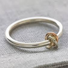 alternative to wedding ring. eternity knot ring - best anniversary gifts alternative to wedding