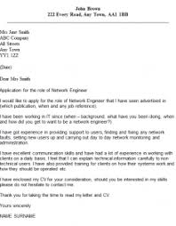 network engineer cover letter example   icover org uk