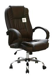 brown leather office chairs. New Brown Luxury High Back Executive Office Chair Leather Chairs H