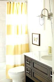 striped shower curtains yellow and brown bathroom with stripe shower curtain contemporary yellow shower curtain yellow striped shower curtains