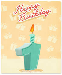 First Birthday Quotes Simple 48st Birthday Wishes And Cute Baby Birthday Messages