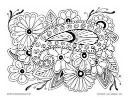 Small Picture Beautiful coloring page paisley on flowers Coloring pages for