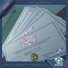 china custom security gift voucher booklet printing china watermark voucher security paper