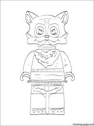 Small Picture Lego Chima Furty printable page to color Coloring pages