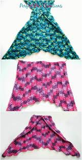 Crochet Mermaid Tail Pattern Free Delectable 48 Free Crochet Mermaid Tail Blanket Patterns DIY Crafts