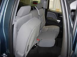 2016 2019 chevy gmc double cab rear 60 40 seat covers