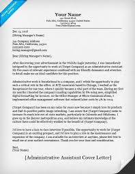 Executive Assistant Cover Letter Example   Professional Cover     LiveCareer