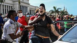 Cuba after protests ...