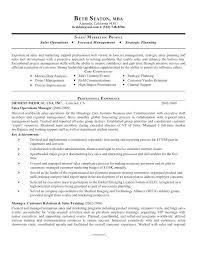 Sales Analyst Resume Operations Analyst Sample Resume Ha