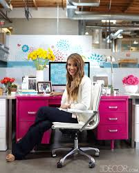decorations for office desk. How To Decorate An Office With Jessica Alba - ELLE DECOR Decorations For Desk