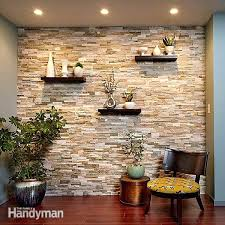 interior stone wall cover a wall with stone veneer and transform a room interior stone wall panels