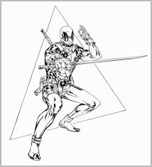 Deadpool Coloring Pages Admirably Free Printable Deadpool Coloring