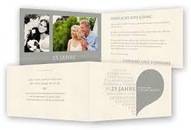Einladung Silberhochzeit Einladungskarten Feinekartencom