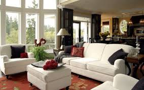 Size Rug For Living Room Living Room Black Coffee Table Gray Sofa Red Patterned Rug