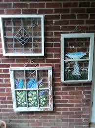 you can hang windows on brick walls too