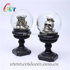 Snow Globe Design Halloween Collectible Glass Snow Globe Souvenir With Resin Skeleton Tombstone Design Buy Snow Globe Souvenir Glass Snow Globe Resin Snow Globe
