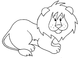 Small Picture Cartoon Lion Coloring Pages GetColoringPagescom