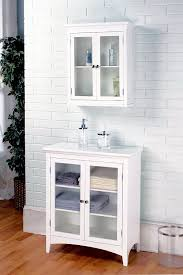 Bathroom Storage Cabinets Floor Amazoncom Elegant Home Fashions Madison Collection Shelved