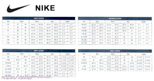 Nike Size Chart Women U S Shoes Uk Www Bedowntowndaytona Com