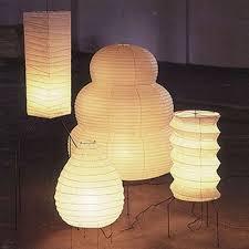 Akari Lamps by Isamu Noguchi