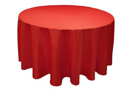 round tables 60in red linen jpg