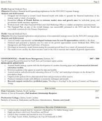 Two Page Resume Examples Examples Of Resumes