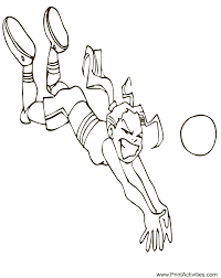 Small Picture Summer Olympics Coloring page Volleyball Coloring Page