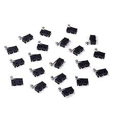 cylewet 20pcs momentary hinge metal roller lever micro switch ac 5a cylewet 20pcs momentary hinge metal roller lever micro switch ac 5a 125 250v spdt 3 pins