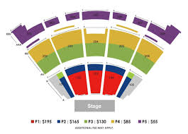 Verizon Theater Seating Chart