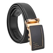Types Of Designer Belts Mens Genuine Leather Belt Designer Belts For Men Ratchet Dress Belt 35mm Wide With Automatic Solid Buckle In A Fashion Box