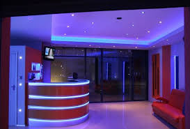 led lighting in homes. Creative Design Led Strip Lights For Home Simple Ideas Blue And White LED  Light Can Create This Amazing Atmosphere Led Lighting In Homes A