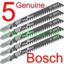skil jigsaw blades. 5 x genuine bosch fast cut wood jigsaw blades for dewalt, makita, skil, aeg, elu skil k