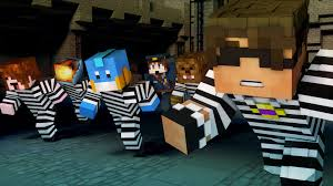 minecraft mini game team crafted cops n robbers mitch s birthday w facecam sky does minecraft vlog life