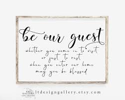 be our guest guest room decor guest