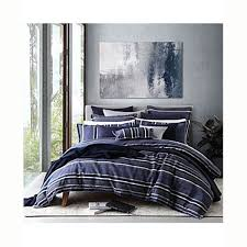 private collection pierson navy quilt cover set king bed