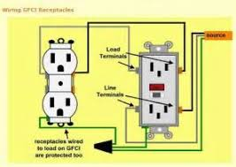 gfci wiring diagram images installing fan gfci into existing how to wire gfci wikihow