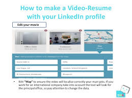 8. How to make a Video-Resume with your LinkedIn ...