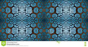 Abstract Fractal Hoge Resolutie Naadloos Patroon Voor Tapijten