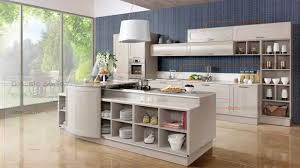 Beige White Kitchen Cabinet Made Of Ash Tree From Oppein Youtube