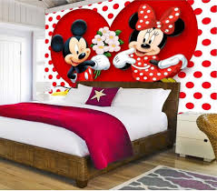 Minnie Mouse Wallpaper For Bedroom Popular Mickey Mouse Wallpaper Buy Cheap Mickey Mouse Wallpaper