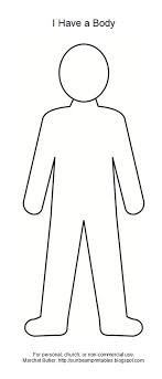 Outline Of A Person Template Ivedi Preceptiv Co