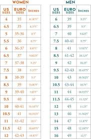 80 Exhaustive Womens Foot Width Chart