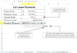 Lease Payment Calculator Best Lease Calculator Spreadsheet Lease Amortization Schedule Equipment