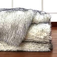 black faux sheepskin rug sheepskin area