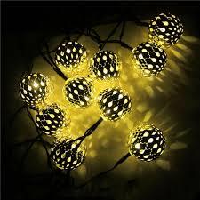 Us 1935 Fashion Solar String Light Zonne Energie 10led 35 Meter Zilveren Bal Lamp Waterdicht Tuin Kerstboom Decoratie Fairy Licht In Fashion Solar