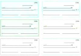 Blank Cheque Template Fascinating Editable Blank Check Template New Free Payroll Checks Templates